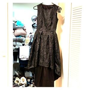 Size 0 Forest Lily Black Cocktail Dress NWT